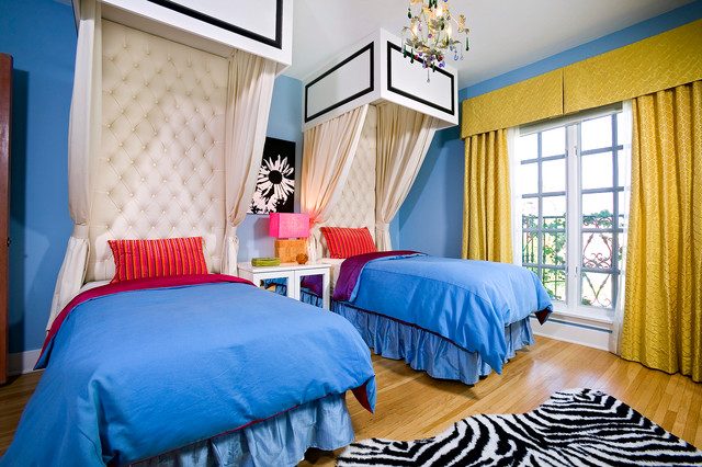 Bold Bedroom contemporary-kids