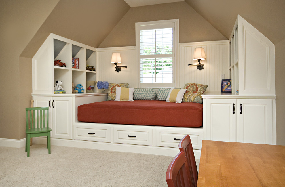 Bonus Room Guest Room Traditional Kids Raleigh By