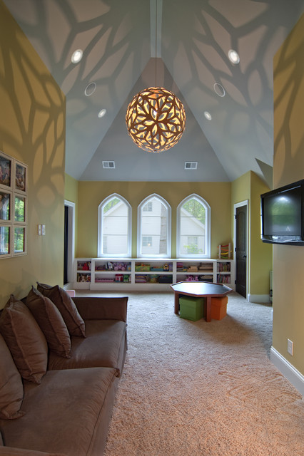 Bonus room eclectic kids charlotte by plattner for Bonus room ideas