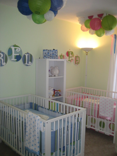 Boy Girl Twins Nursery