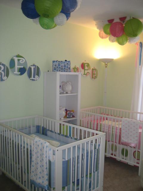 BoyGirl Twins Nursery