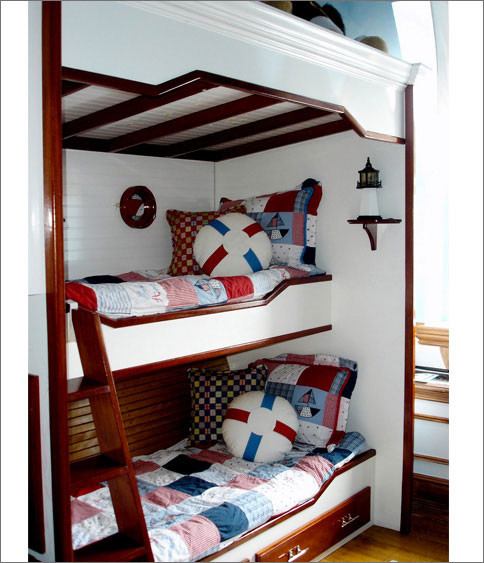 Boy S Nautical Bedroom