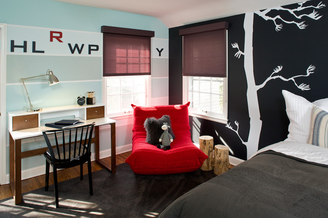 Boys room modern kinderzimmer minneapolis von inview