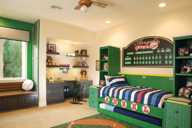 Bedrooms traditional-kids