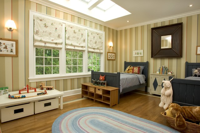 Boys bedroom traditional kids new york by dennison for Houzz kids room