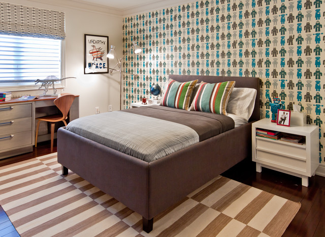 Boys Room contemporary-kids