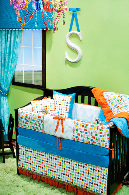 Bright Owl Inspired Nursery eclectic kids