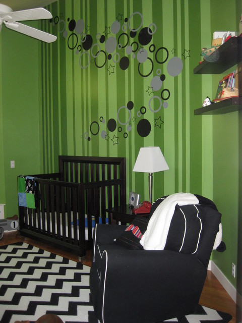 Brixton's new bedroom contemporary-kids