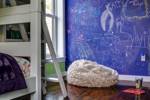 contemporary kids Where to Use Chalkboard Paint