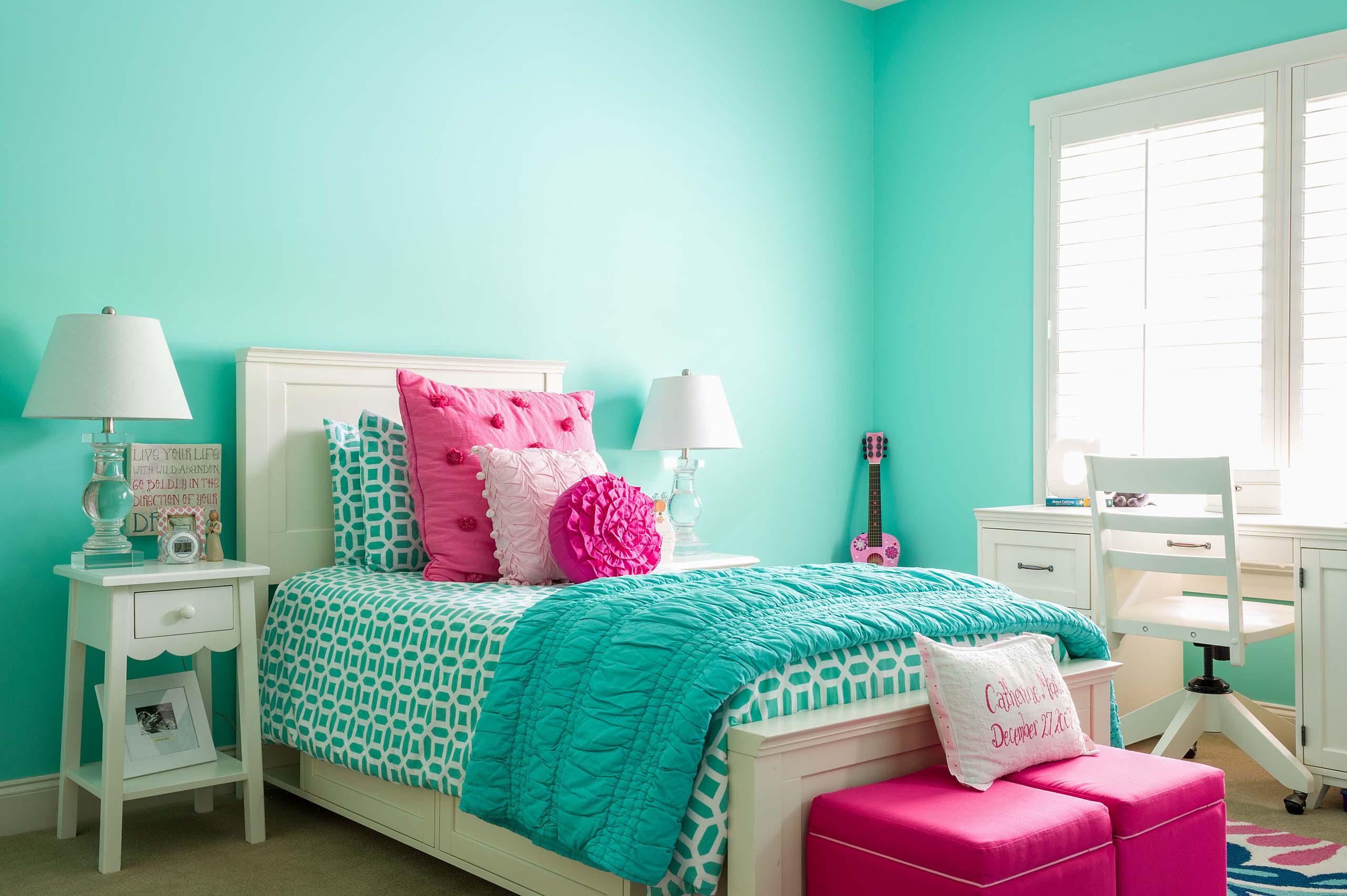 Aqua Teen Bedding Ideas Houzz