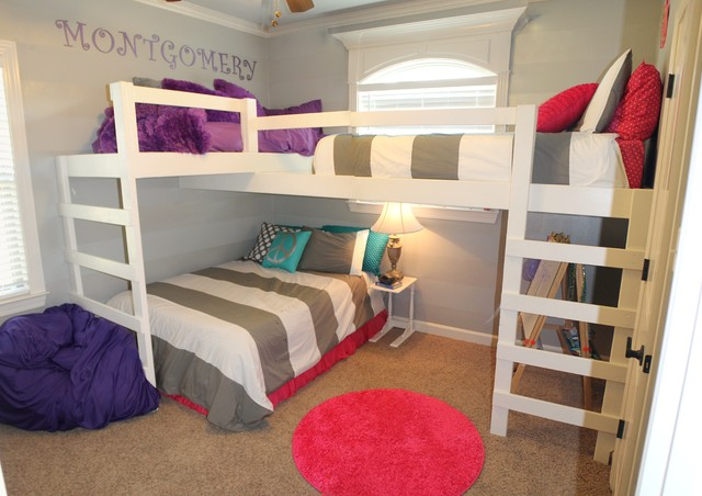 Loft Bed For Girls With Desk: Bunk Bed And Loft