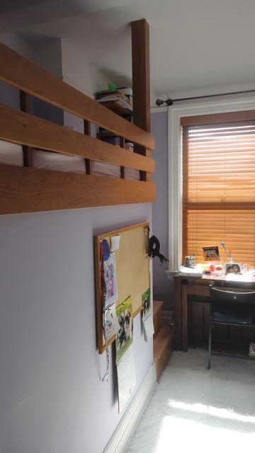 bunk bed room divider