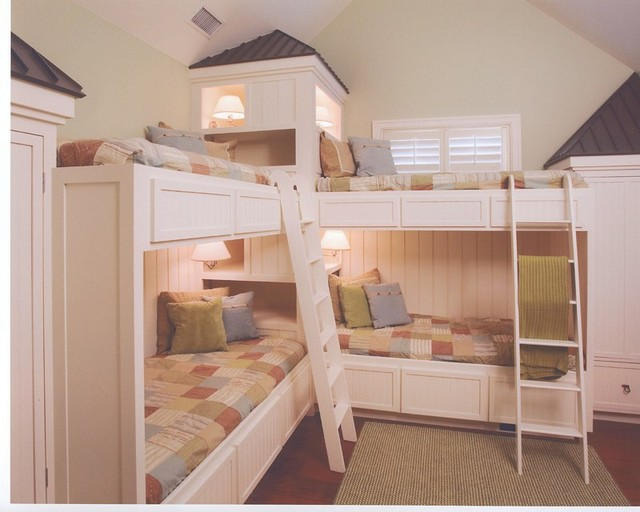 Bunk Beds Traditional Kids Charleston By Baxter Interiors Houzz Au