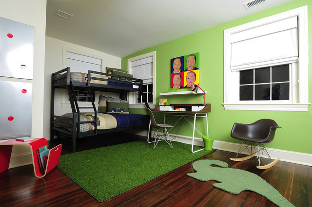 Bunk Beds for the Big Boy! modern kids