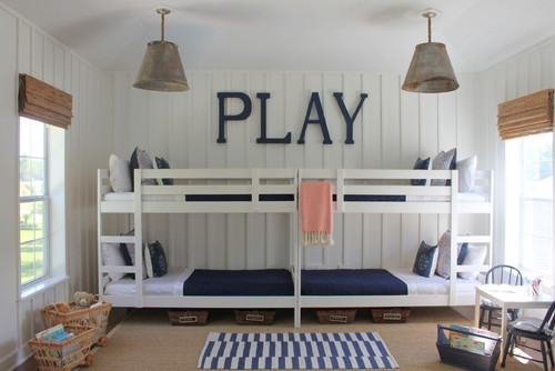 Simple Bunk Room