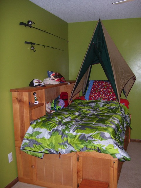 Camp themed bedroom eclectic kids other by for Construction themed bedroom ideas