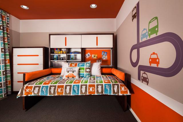 Candelas Collage Model Kids Bedroom Eclectic Kids