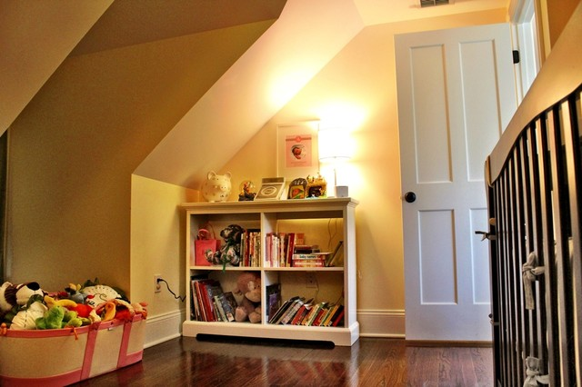 Cape Style Remodel traditional-kids
