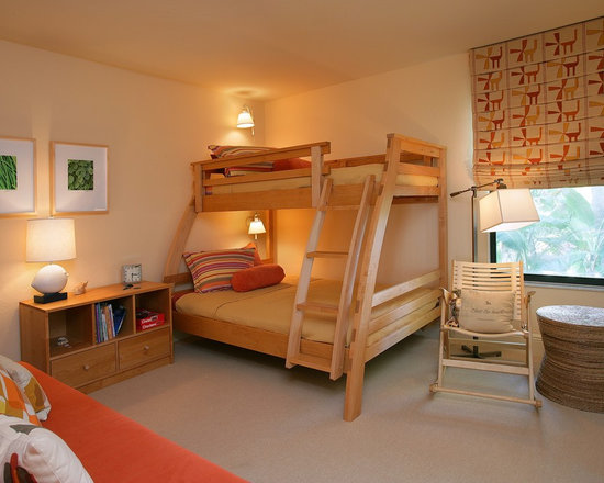 Twin Over Full Bunk Bed Home Design Ideas, Pictures, Remodel and Decor