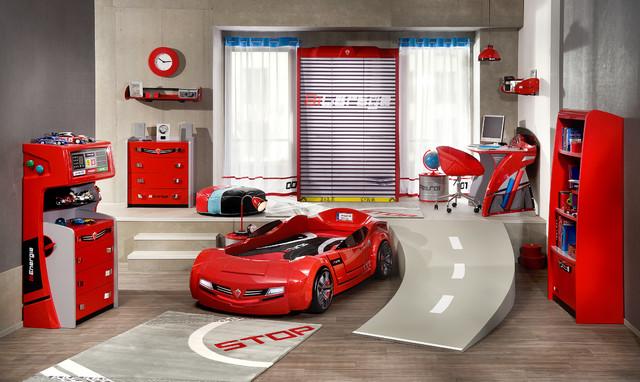 Car bed kids bedroom - Dream Room modern-kids