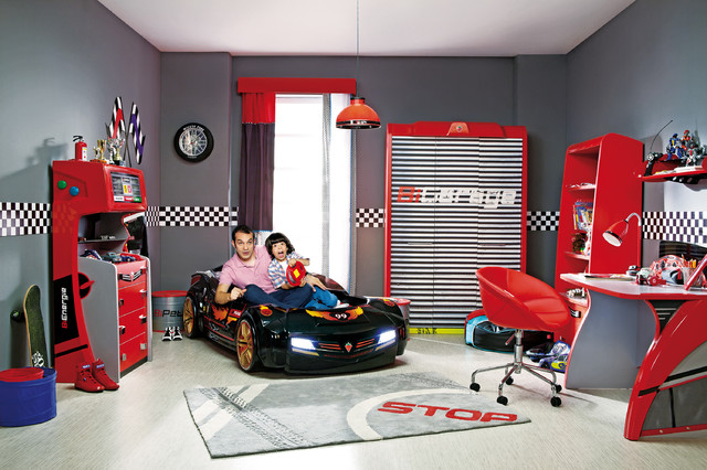 Car Bed Kids Bedroom Dream Room Modern Miami