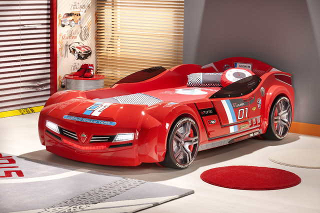 car bed kids bedroom red italia car bed modern kids car bed kids