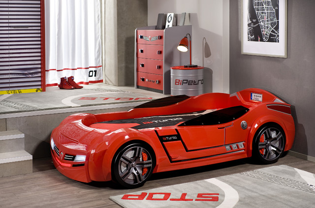 Car Bed Kids Bedroom Modern Kids Miami By Turbo Beds