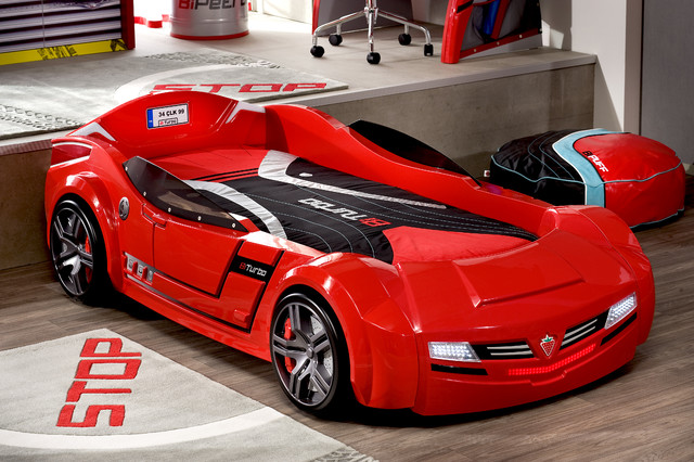 Car bed kids bedroom - Modern - Kids - miami - by Turbo Beds