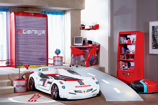 Great Car Bed Kids Bedroom   Turbo Car Bed GT Modern Kids