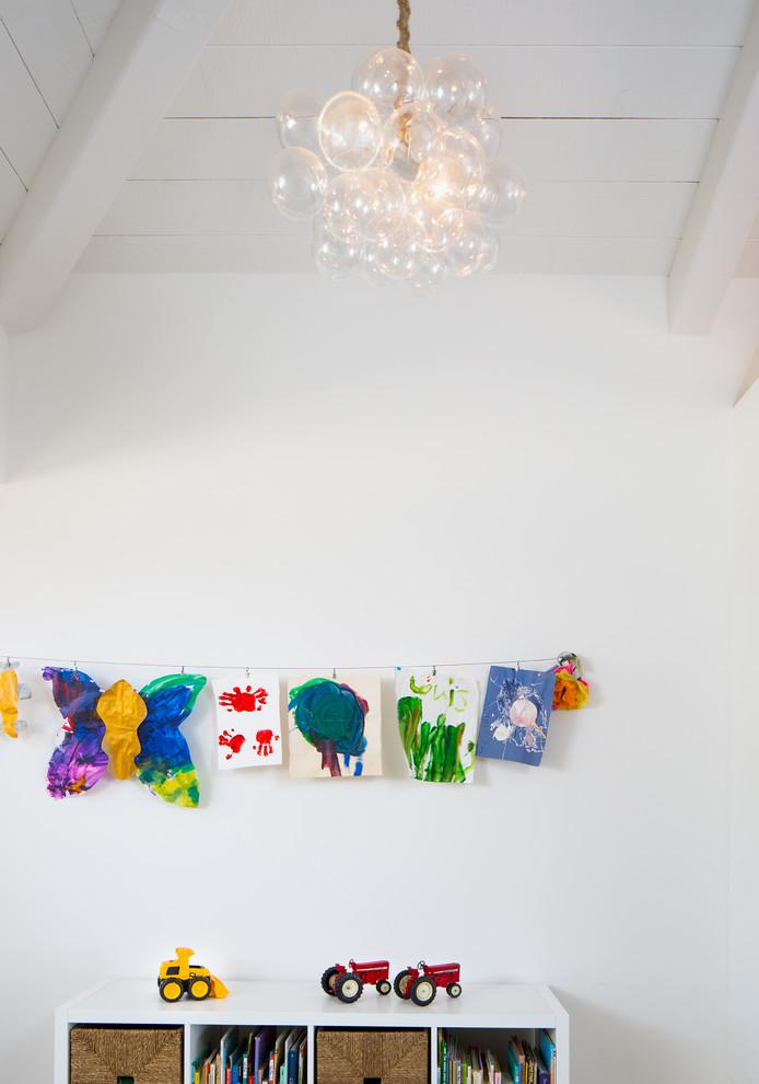 Minimalist kids' room photo in San Francisco
