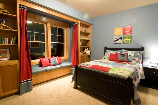 Cascadia, Boys Bedrooms traditional-kids