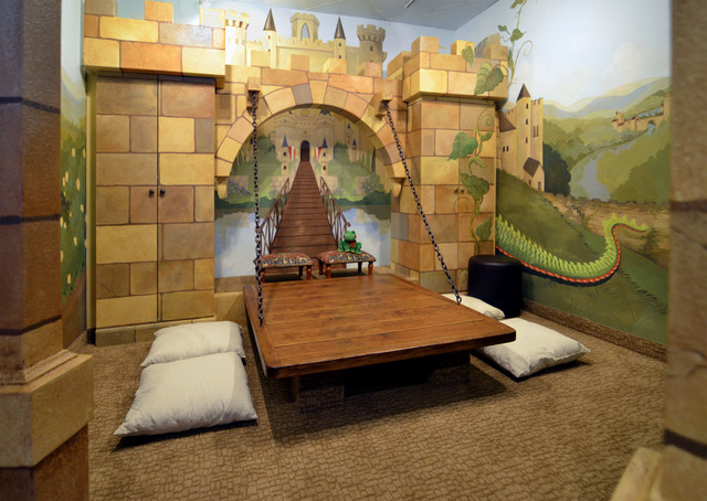 castle room traditional kids dallas by youdreamit webuildit rh houzz com castle kids home health Castle Throne Room
