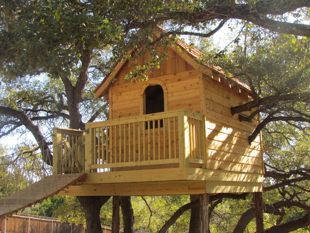 tree house   eclectic   kids   austin   by heritage home builders