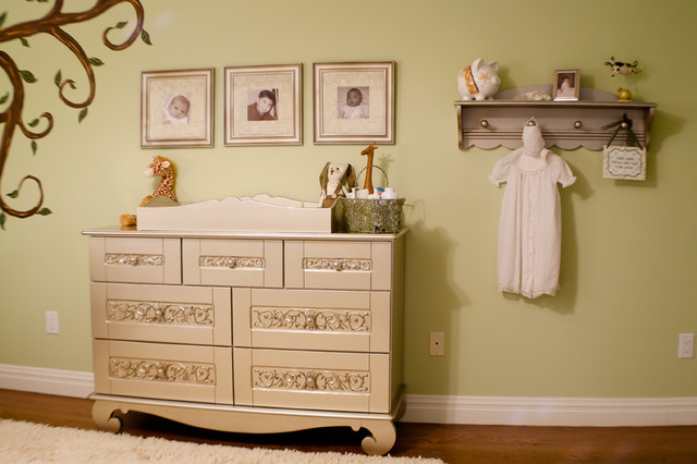 Celebrity Gender Neutral Nursery traditional kids