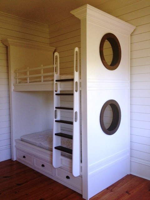 Charleston Fine Cabinetry Built-Ins traditional-kids