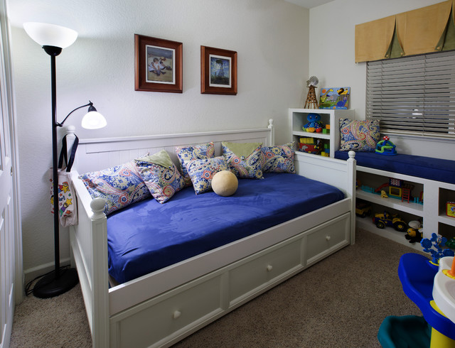 Auburn childrens room contemporary-kids