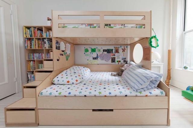 Example of a danish kids' room design in New York
