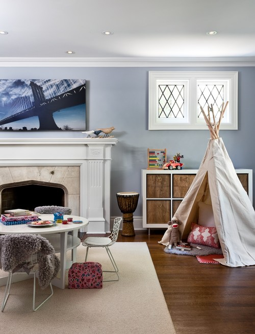 Chic Mid-town Playroom
