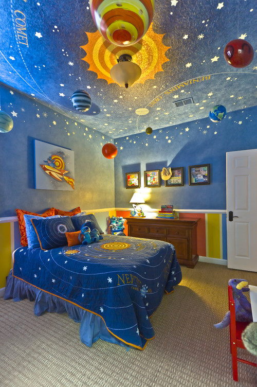 contemporary kids Kids Bedrooms: 5 Themes For Your Adventure Lovin Kid