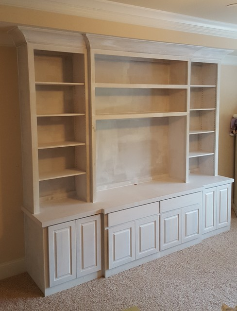 Child's Room Media and Doll Cabinet - Traditional - Kids - atlanta ...