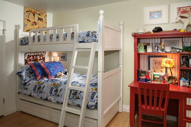 Children's Bedroom rustic-kids