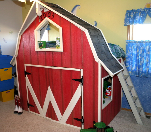 Custom Made Beds Image Gallery: Children's Beds Farmhouse-kids