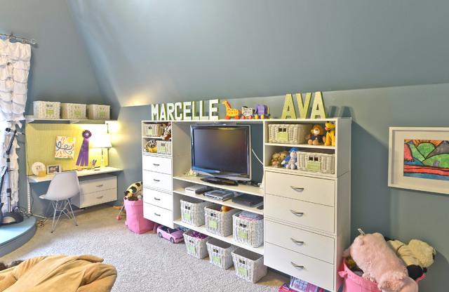 Children's Closets contemporary-kids