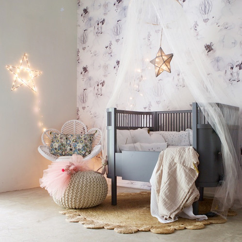 Inspiration for a scandinavian kids' room remodel in Melbourne