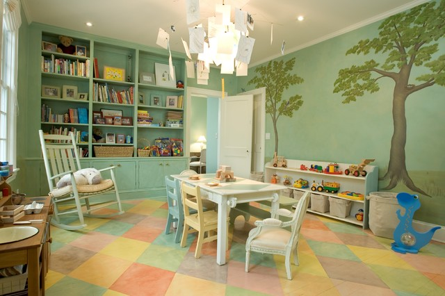 Children's Playroom traditional-kids