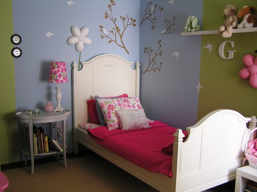 Childrens Room eclectic kids