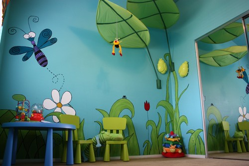 create an outdoor world in your kids bedrooms