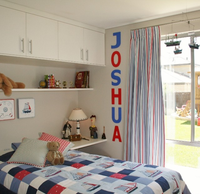 Inspiration for a contemporary kids' room for boys in Perth.
