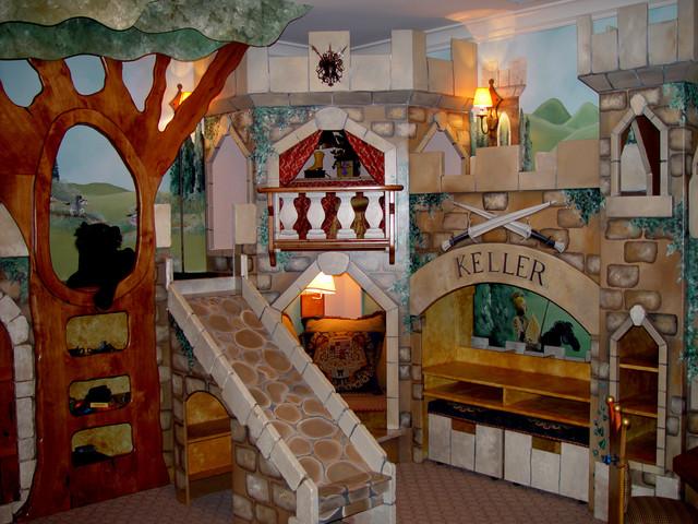 Children's Spaces eclectic-kids