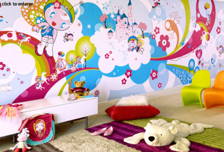 wallpaper kids room. modern kids by
